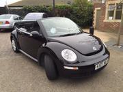 Volkswagen 2007 STUNNING Black VW Beetle Convertible 1.6 Luna